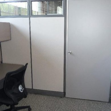 Modular Office with Door