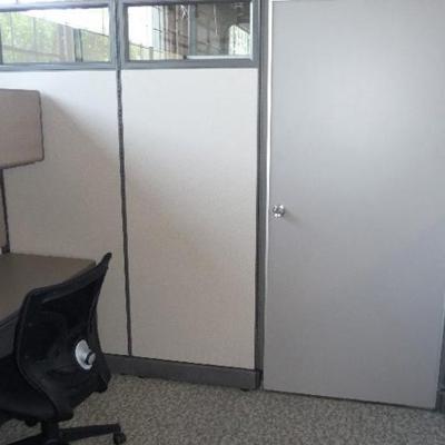 Modular Office with Door