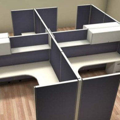 Cubicle 4-Pack System