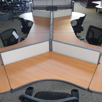 Various Height Dogbone Cubicles