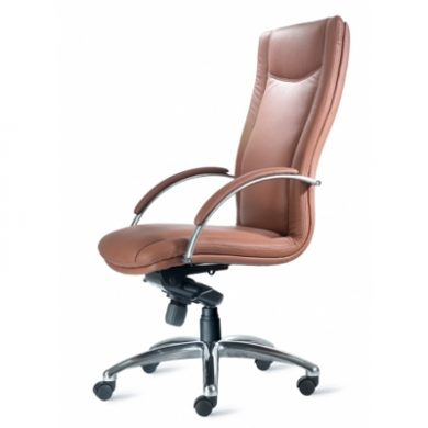 9to5 Cayman Leather Conference Chair