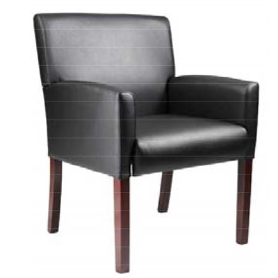 NOW! Black CaresSoft Side Chair