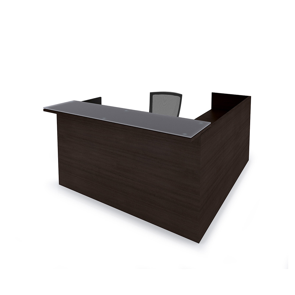 Cherryman amber reception desk new office furniture now for Furniture now