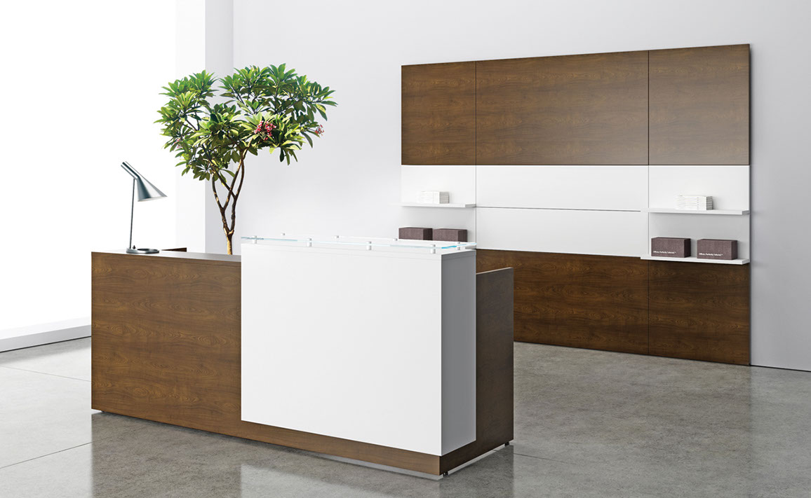 Three h reception desk new office furniture now for Furniture now