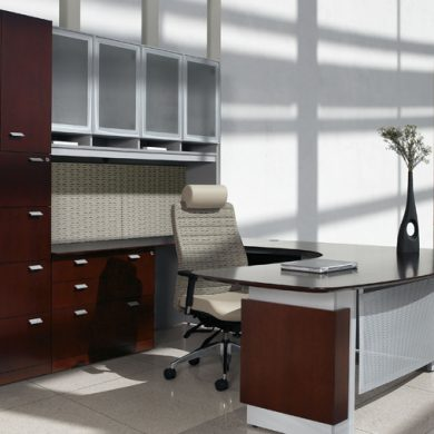 corporate office workspace