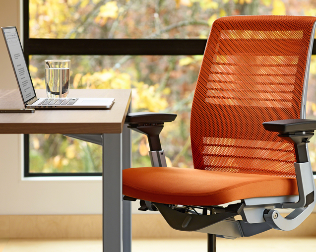 tech workspace seating