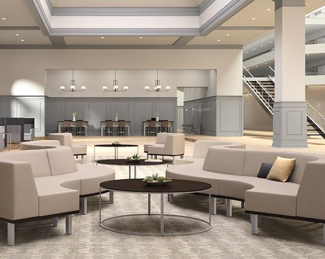 Hospitality Expanded Reception Design