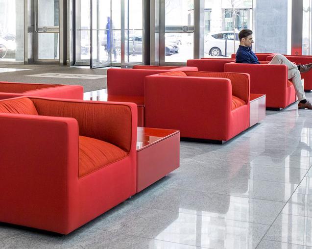 Hospitality common area design