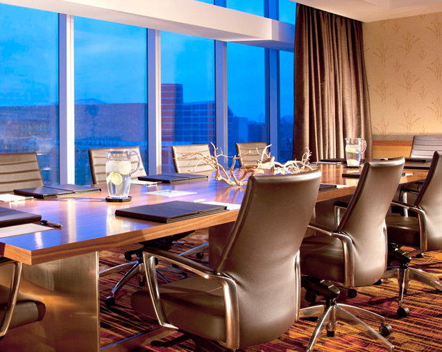 Hospitality conference room design