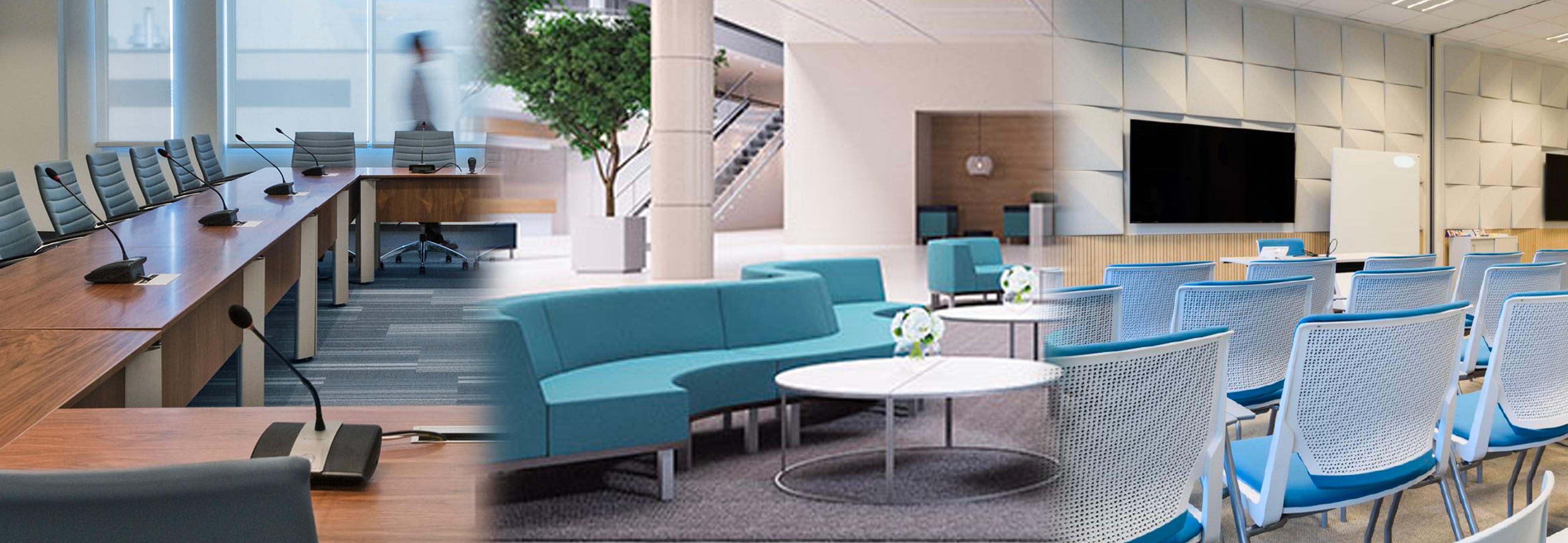 hospitality workspaces